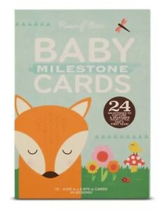 Rising Star Milestone Photo Prop Two Sided Cards Gift Set 0-12M NEW