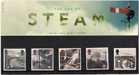 GB 1994 The Age Of Steam - Railways Trains - Presentation Pack 244