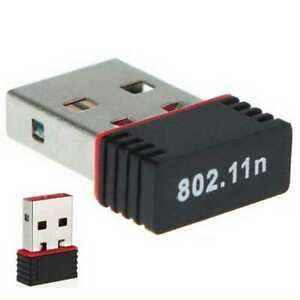 USB WiFi 150Mbps Adapter Adaptor Wireless LAN Ethernet Dongle Network 2.4GHz PC