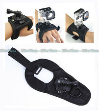 Glove-style Mount Wrist Band Strap for GoPro Hero 4/3+/3/2 Accessory Large Size