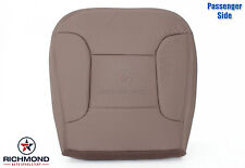 92-96 Ford Bronco 4X4 -Passenger Side Bottom PERFORATED Leather Seat Cover TAN