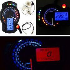 15000rpm Motorcycle Digital Dual Colors Speedometer Tachometer Odometer Gauge#