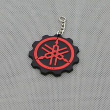 Red Motorcycle Rubber Keyring Keychain Key Chain Key Ring For YAMAHA Cool Gift