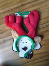 Pet  Dog Cap Hat For Puppy Teddy Animal  Christmas Reindeer Antlers L Costume