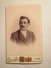 Bochum - Bilme - 1891 - Carl Sasse als Student der Medizin - CDV / Studentika