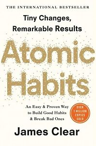 NEW Atomic Habits Build Good Habit Transform Life Paperback Book FREE SHIPPING