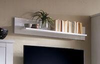 Wandboard Wandregal Steckboard 30 cm lang Weiß Landhausstil