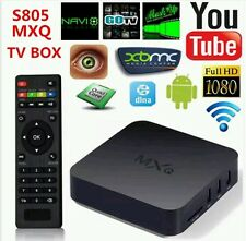 MXQ AMLOGIC QUADCORE ANDROID TV BOX w/Preinstalled Apps