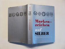 Buch, Markenzeichen auf Silber, Jan Divis, Artia 1976, Nachschlagewerk