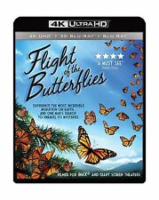 IMAX: Flight Of The Butterflies (4K UHD / 3-D Bluray) [Blu-ray] Free Shipping