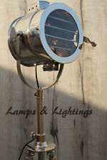 Decorative Royal Master Tripod Steel Floor Lamp Derigner Indoor Type Light UK.