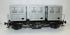 Brawa 37160 O GAUGE RAIL ROAD Container Car BTS30 DB Ep III House to House