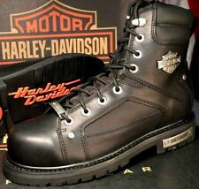 c36a810593b04 Motorcycle Wide (E, W) Lace Up Boots for Men for sale | eBay