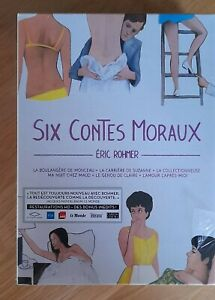RARE Coffret Éric Rohmer - Six Contes Moraux Blu-ray + dvd NEUF