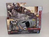 Hasbro Transformers The Last Knight CyberFire COGMAN 1-StepTurbo Changer