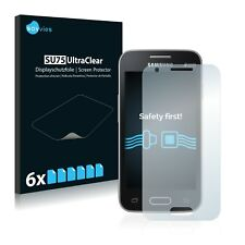 6x Samsung Galaxy Trend II Duos S7572 Displayschutzfolie Klar Transparent