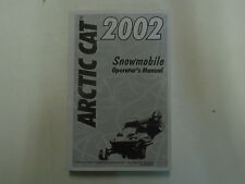 2002 Arctic Cat Snowmobile Operators Owner OwneRS Manual 2-4 Stroke FACTORY NEW