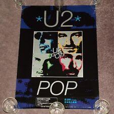 U2 Pop - RARE 1997 JAPAN PROMO POSTER (Japanese / 51.5cm x 73cm)