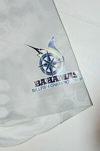 WOW HUK BAHAMAS BILLFISH CHAMPIONSHIP YETI Fishing Perform Men Polo Shirt M  B9