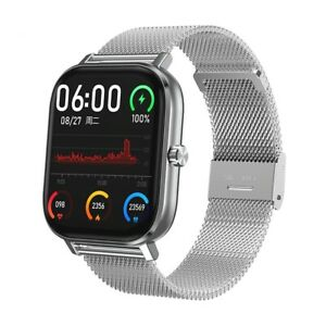 Smart Watch Men Woman Android GTS Blood Heart Rate Pressure Monitor Fitness Band