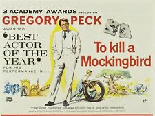 "To Kill a Mockingbird 16"" x 12"" Reproduction Movie Poster Photograph"