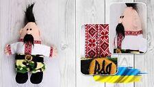 Ukrainian Soft Plush Toy Cossack Kozak Vyshyvanka Souvenir Baby Kids Children