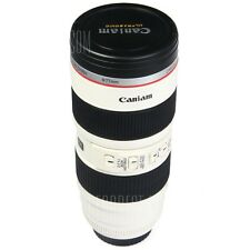 2 in 1 Camera Lens Cup Mug Cups with EF 70 - 200mm F/2.8L IS USM