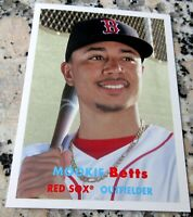MOOKIE BETTS 2015 Topps SP 1957 Boston Red Sox MVP Dodgers Champs HOT $$$