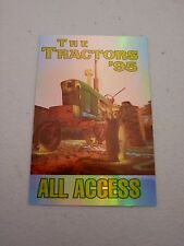 The Tractors 1995 All Access Backstage Concert Pass