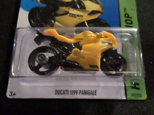 HW HOT WHEELS 2015 HW WORKSHOP #203/250 DUCATI 1199 PANIGALE YELLOW HOTWHEELS