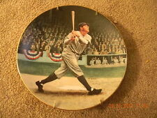 "BABE RUTH BASEBALL COLLECTOR PLATE 8"" ""THE CALLED SHOT"" BRADFORD EXCHANGE"