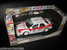 MINICHAMPS 1:43 ALFA ROMEO 155 V6 TI DTM 1995 PRESENTATION CAR M ALEN  AWESOME