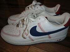 Nike Air Force 1 MLB Bean Town Size 10.5 Style #306353-148 Boston Red Sox