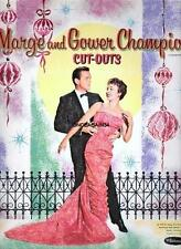 Vintage Uncut 1959 Marge & Gower Champion Paper Dolls~#1 Reproduction~Pretty!