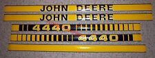 JD4440TP 4440 Hood Decal Kit Set for John Deere Tractor  - NEW!
