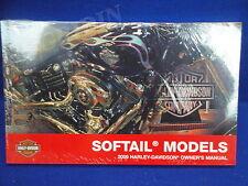 2009 Harley Davidson softail owners manual heritage fatboy night train springer