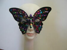 Iridescent Butterfly Masquerade Eye MASK carnival party fairy costume cosplay