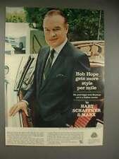 1965 Hart Schaffner & Marx Sharkeye Suit Ad, Bob Hope