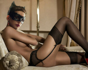 Anne Hathaway Catwoman fantasy unsigned  8x10 photo picture print