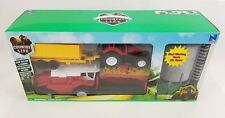Country Life Childrens Farming Tractor Trailor Combine & Silo Play Set New Large