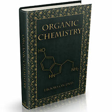 84 Organic Chemistry Books on DVD Chemist Text book Compounds Science Atoms
