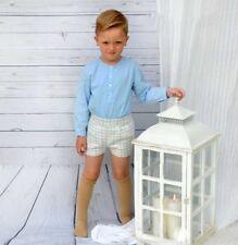 SEWING PATTERNS Paper Pattern boys' SHIRT+SHORT SET Toddler's spanish kids style