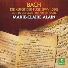Marie-claire Alain - Bach: Die Kunst Der Fuge NEW CD