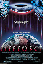 LIFEFORCE (1985) ORIGINAL MOVIE POSTER  -  ROLLED