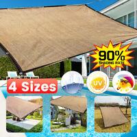 Schattentuch mit Ösen Sonnenschutz Gartenbeschattungsgeräte für den Außenbereich