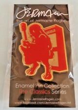 Jermaine Rogers Rabbit Fighter Blood Red EDITION x/100 Enamel rare L/E Lapel PIN