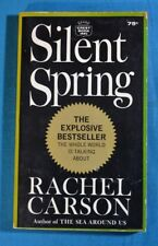 Silent Spring Rachel Carson Crest Book First Paperback Edition 1964