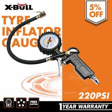 X-BULL Tyre Pressure Gauge Air Tire Inflator Meter Car Pump Hose Compressor Tool