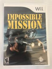 Impossible Mission (Nintendo Wii) Factory Sealed New - Free Shipping