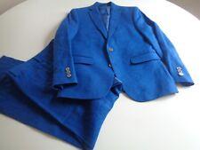 Boy's Ralph Lauren blue linen suit, size 12, EUC